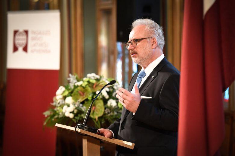 Egils Levits, president of Latvija